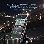 [SMART GEL] 스마트폰 거치대 차량대쉬보드 책상 유리판등에 완벽흡착 국제특허제품
