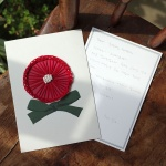 꽃잎이 나풀거리는 카네이션 종이자수카드 DIY KIT