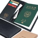 SIMPLIFE 심플라이프 소가죽 엠보 여권케이스