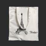 에펠탑 에코백(화이트)
