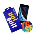 아이폰SE2 전용 2.5D 풀점착 강화유리 1매+서피스 1매