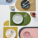 델피노 실리콘 테이블매트+컵받침세트