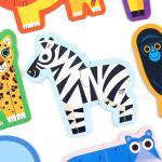 첫 퍼즐놀이 동물 2피스 퍼즐 / 3세이상