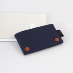Two button wallet_Navy