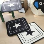 스타 극세사 메모리폼사각방석 - 3color