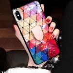 갤럭시 노트9 8 S9 S8 예쁜 강화유리 스마트톡 케이스