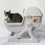 [루무드] 고양이 반자동 화장실