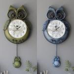 [2HOT] 부엉이 엔틱 벽시계