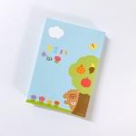 [호호문방구] 만쩜노트 숲속 미니 - 떡메모지