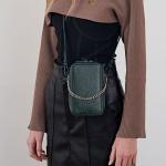 [모에모어] Similar BAG 미니 백 딥그린