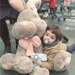 [무료배송]이비자 대형 토끼 애착인형 70cm