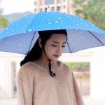 갓샵 핵인싸템 머리에쓰는 우산 모자 핸즈프리 낚시