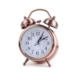 탁상용 해머 알람시계 / 탁상시계 로즈골드 LCID919
