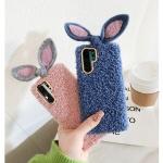 핸드폰/갤럭시s10 5g/s10+ 귀여운 토끼 뽀글이케이스