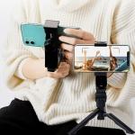 유투브 브이로그 영상촬영 스마트폰 거치 셀카봉