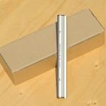200mm 10개입의산뜻한 국산 알루미늄 메모홀더 HA573-5s