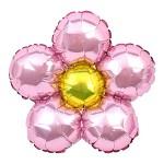 은박 꽃풍선 30cm 핑크