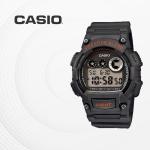 카시오 군인 군용 전자 빈티지 손목시계 W-735H-8A