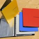 비닐속지 30매 장착 A4 루스리프화일-청운그린화일 Color Collector 30공 링 바인더노트 HB193