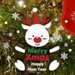 제제데코 크리스마스 눈꽃 스티커 장식 CMS4J251