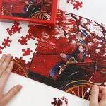 인디고 퍼즐 150피스-앤 레드