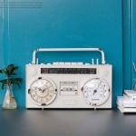 [2HOT] 빈티지 라디오 시계 (3B207)