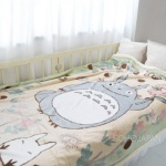 잇템 토토로 뽀글이 담요(나뭇잎 140X200)