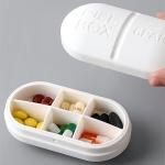 화이트 알약 상자
