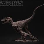 [REBOR] 리보 벨로시랩터 청동버전 한정판 (윈스턴&스탠) 공룡피규어