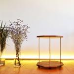 [리우목공방] 팔각 사이드 테이블