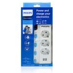 필립스 USB멀티탭/정품/USB개별 멀티탭 3구1.5M