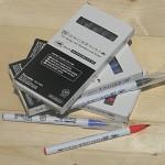 [Kuretake] 천연모 브러쉬팁의 캘리그라피,수채화붓..일본 쿠레다케 지그 Clean Color Real Brush 1다스(6개입) HF122-2