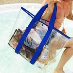 Clear beach bag