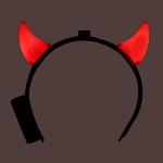 LED점등 붉은악마머리띠-소