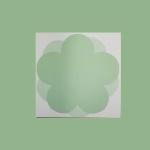 심플 초록 오얏꽃 떡메모지 시리즈