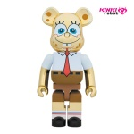 1000%BEARBRICK SPONGE BOB GOLD CHROME(2004003)