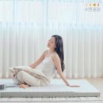 [수면공감]송이토퍼 매트리스 거실매트토퍼 바닥용-SS