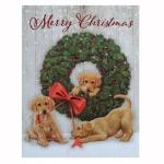 크리스마스 카드 WONDER AND JOY