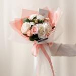 화이트데이 수제초콜릿 장미 사탕꽃다발