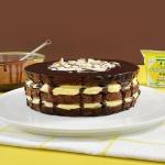 [피나포레x빙그레] 노오븐 바나나 초코케이크
