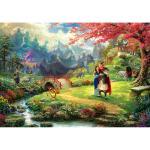 1000피스 직소퍼즐 - 뮬란 벚꽃나무 아래 피어난 사랑