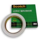 3M 스카치 매직테이프 12mm×65m 맨더테이프