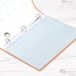 다공바인더 내지..나카바야시 A4 20매 3공바인더 프리미엄 비닐 속지 HC-5