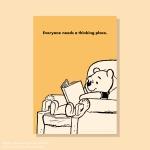 [디즈니] A3 포스터 - 곰돌이 푸 (no.2)