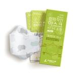 합리적인 KF94 마스크 소형20매 개별포장 코끼리패턴