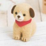 하마나카 빨간목도리 강아지 키트
