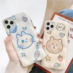아이폰 11pro max xr xs 7 8+ 토끼 곰돌이 젤리케이스