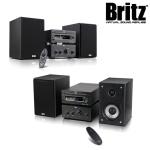 브리츠 블루투스 CD 알람 라디오 BZ-MC1584B (90W 듀얼유닛 / FM라디오 / 무선 리모콘)