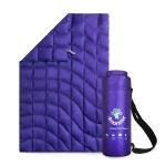 Duck Down Blanket Purple