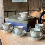 아리타 400주년 한정 피오니 5인조 찻잔/커피잔